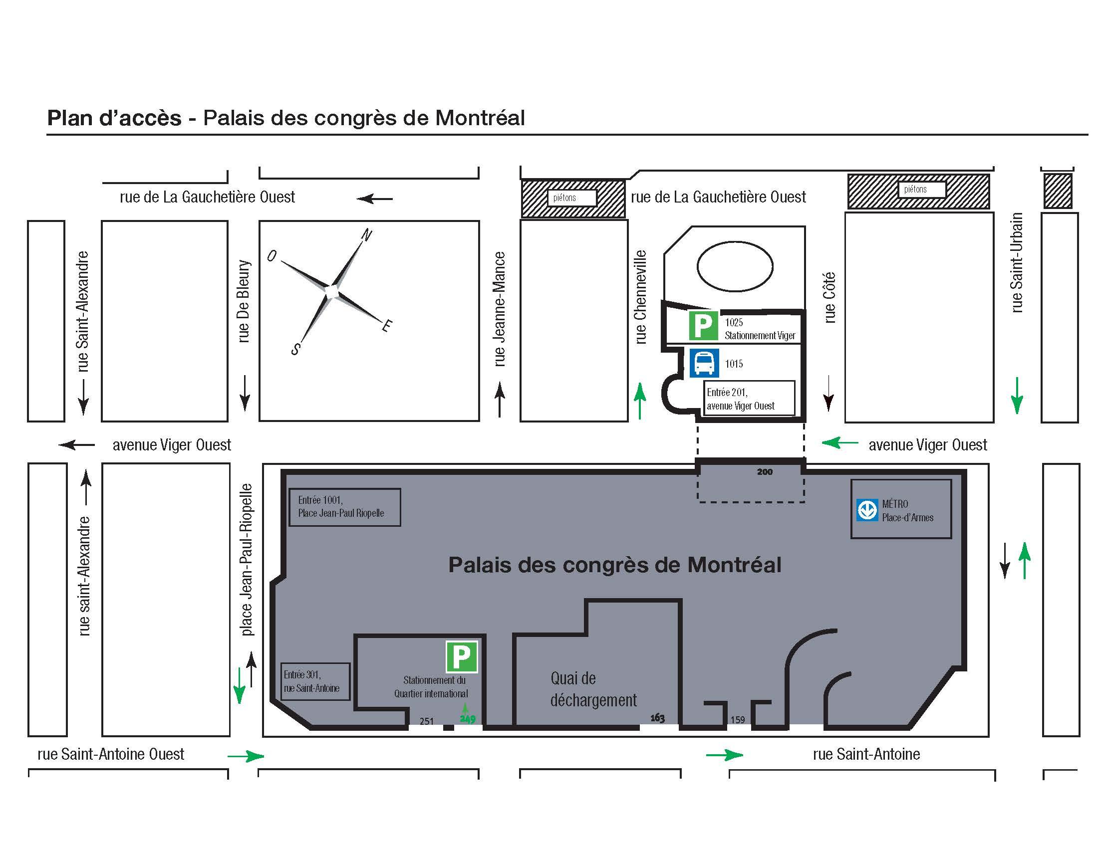 Plan accès français
